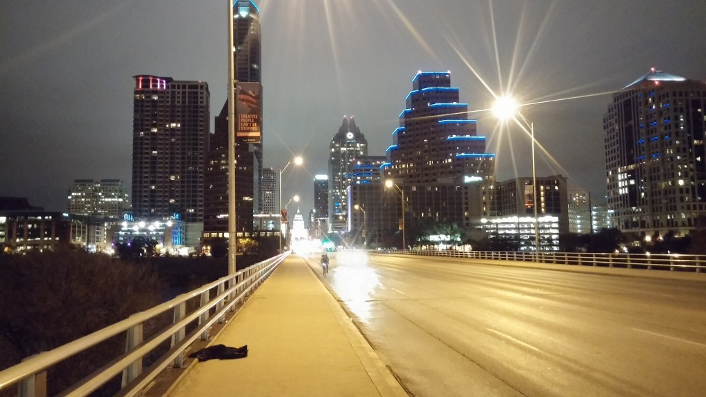 Austin by night!